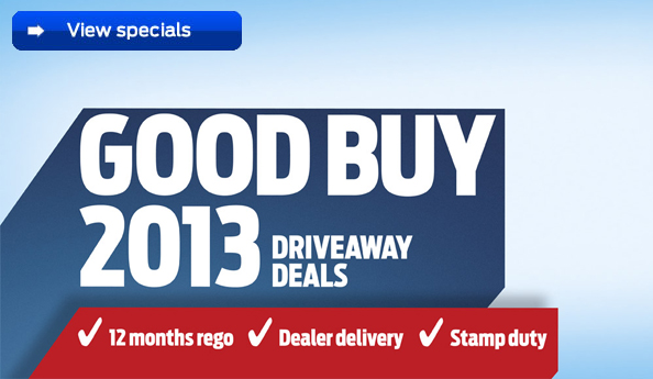 Driveaway deals on a wide range of New Ford Vehicles now at Q Ford Brisbane