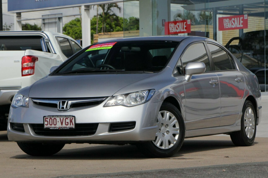 2008 MY Honda Civic 8th Gen MY08 VTi Sedan