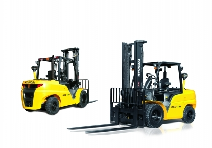 New Hyundai Forklifts 35/40/45/50 D-9K