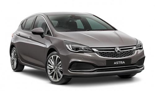 2018 MY17 Holden Astra BK RS-V Hatchback