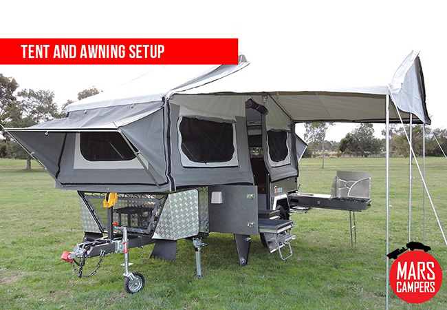 Spirit Forward Folding Camper