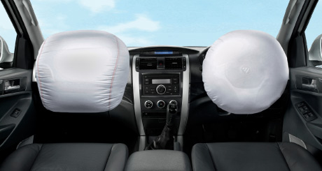 Tunland Dual Cab Safety Features
