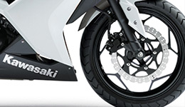 Ninja 300 Powerful Braking