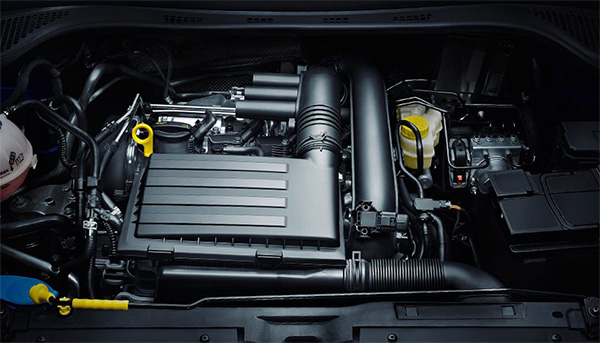 Fabia Turbocharged engine