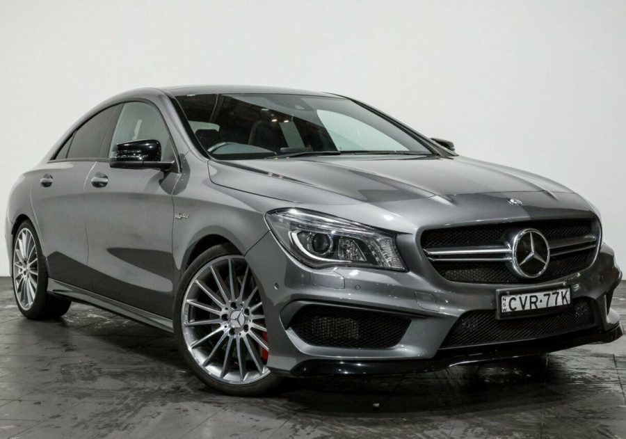 2014 Mercedes-Benz CLA45 C117 AMG SPEEDSHIFT DCT 4MATIC Coupe
