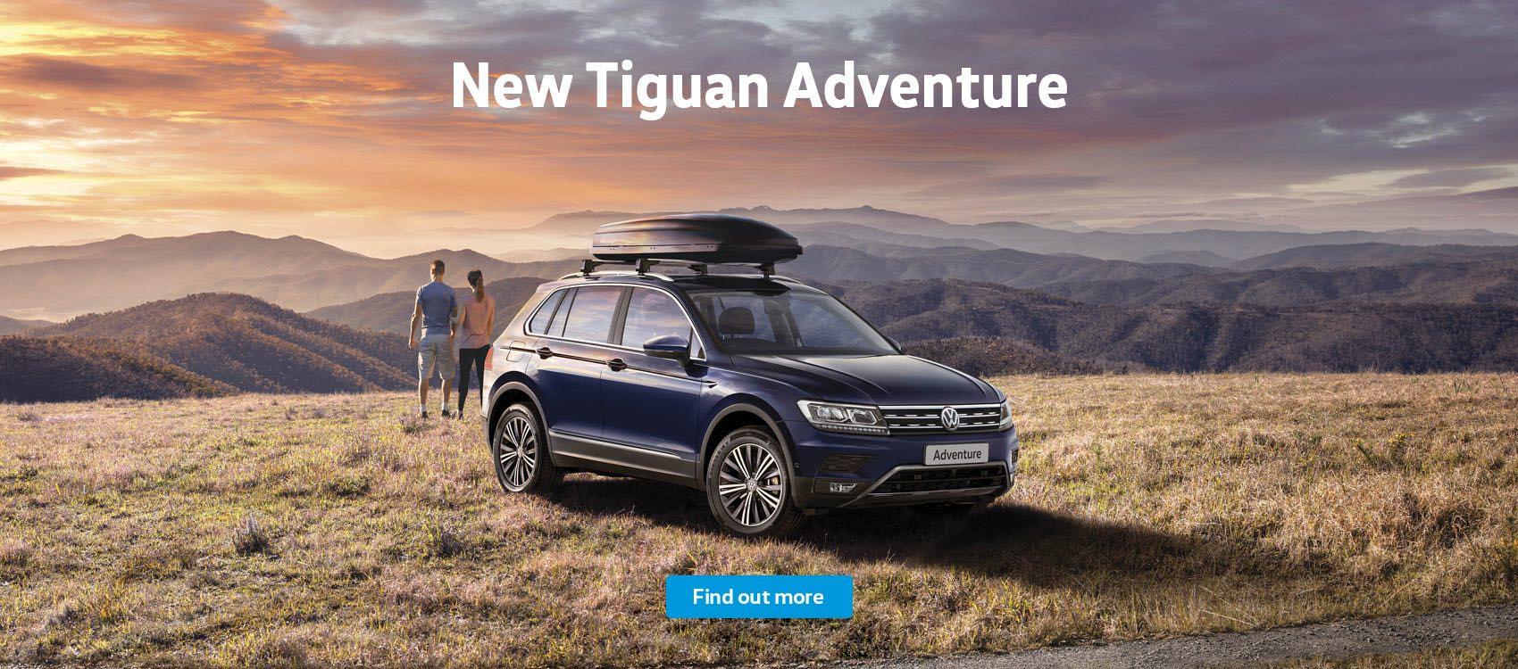 New Volkswagen Tiguan Adventure