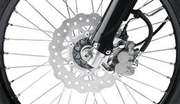 2016 KLX150BF SE Large Petal Discs Brakes
