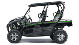 2016 Teryx4 LE Highly Stable, Sporty Chassis Design