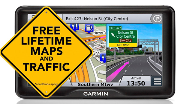 "<img src=""Garmin Nüvi 2797LMT portable satellite navigation"