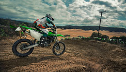 2017 KX85-II Style and Flair