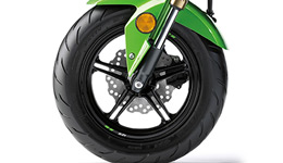 Z125 Pro KRT Replica 12 inch Cast Wheels and Road Tyres