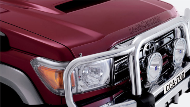 "<img src=""Bonnet Protector and Headlamp Covers"