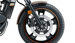 Vulcan S SE Tyres and Brakes