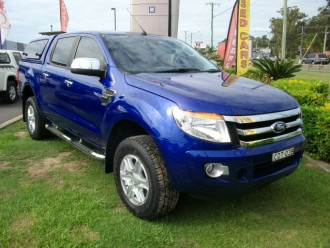 Ford Ranger XLT PX Turbo