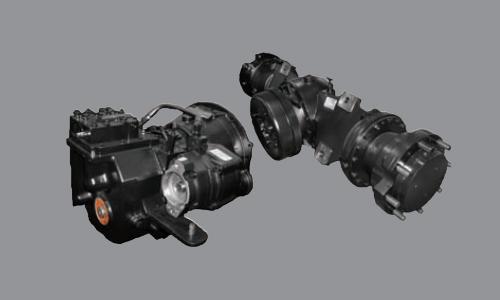 35L/40L/45L/50 L-7A Highly Durable Split type Drive Axle