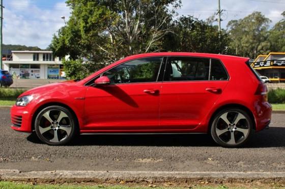 2014 MY15 Volkswagen Golf VII GTI Hatchback