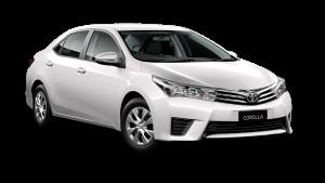 2016 Corolla Ascent Sedan Manual
