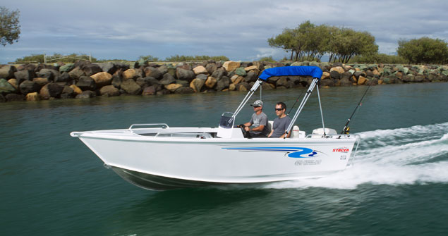 New Stacer 489 Outlaw Side Console