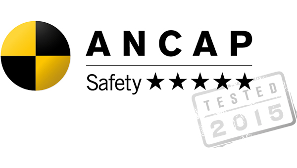 5 Star ANCAP Safety Rating