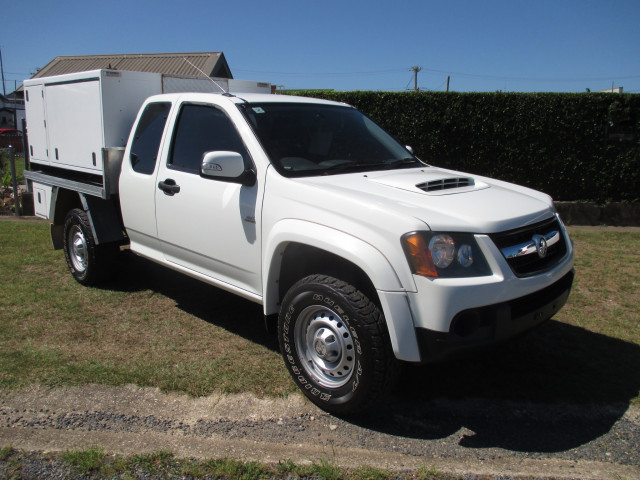 2010 MY11 Holden Colorado RC Turbo LX Cab chassis