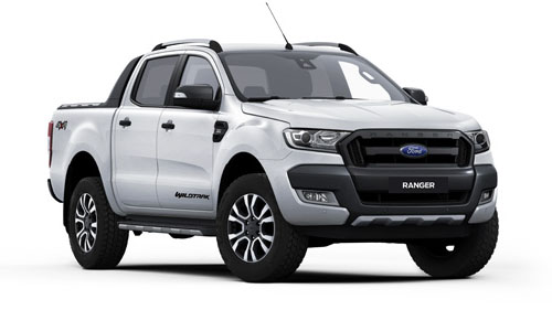 2017 Ford Ranger PX MkII 4x4 Wildtrak Double Cab Pickup 3.2L Utility - dual cab