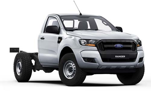 2018 Ford Ranger PX MkII 4x4 XL Single Cab Chassis 3.2L Single cab chassis