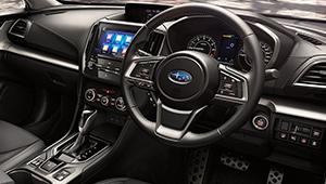All-New Impreza Interior design