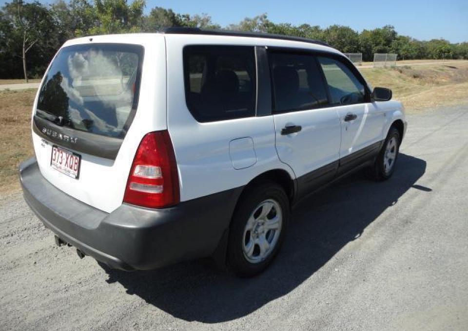 2004 MY05 Subaru Forester 79V  X Wagon