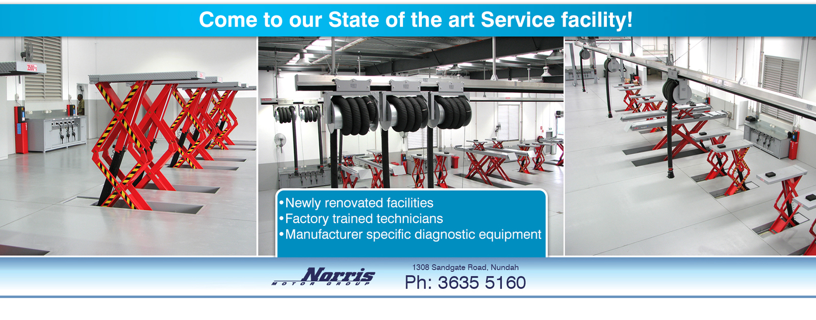 Come and visit our state of the art service facility at Nundah Suzuki Brisbane.