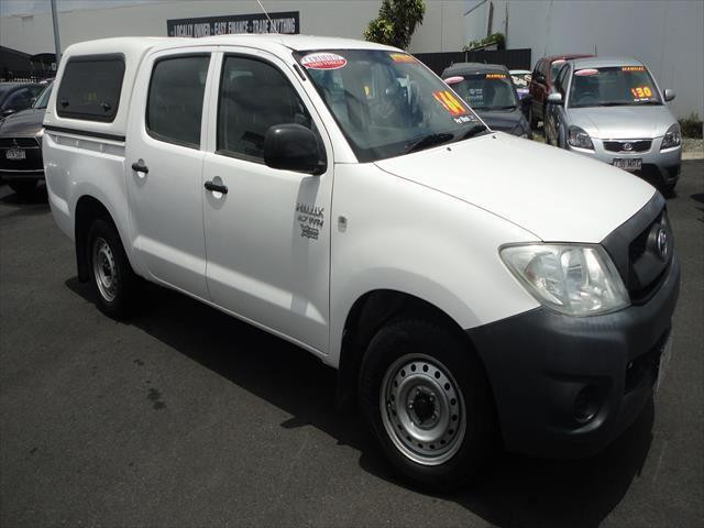 2009 Toyota HiLux TGN16R  Workmate Utility - dual cab