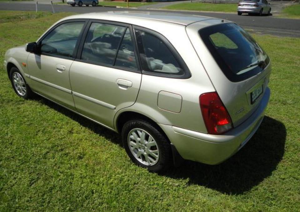 2001 Ford Laser KQ GLXi Hatchback