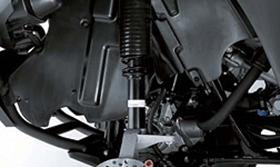 2013 KVF360 4x4 MacPherson Strut Front Suspension