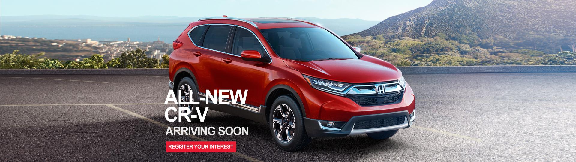 All-new Honda CR-V arrives at Hunter Honda Maitland soon