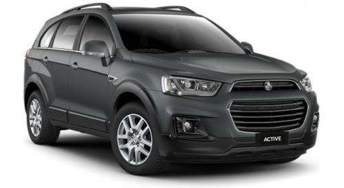 2017 Holden Captiva CG Active 7 Seats Suv