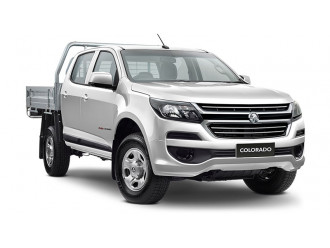 Holden Colorado 4x4 Crew Cab Chassis LS RG