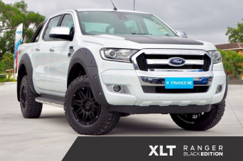 Ford Ranger Black Edition PX MkII