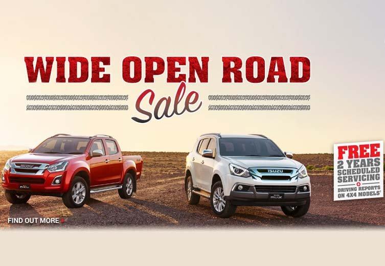 Wide Open Sale
