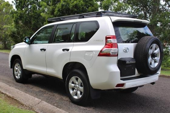 2015 MY Toyota Landcruiser Prado GDJ150R GX Wagon