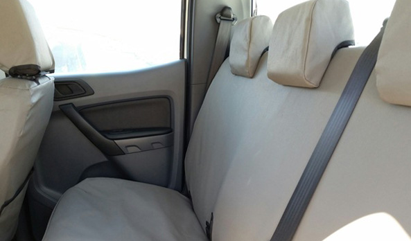Seat Covers - Front & Rear - Canvas