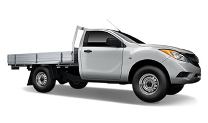 BT-50 4x4 Single Cab Chassis