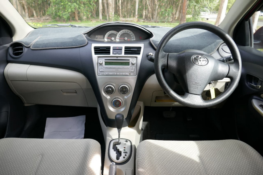 2008 MY09 Toyota Yaris NCP93R  YRS Sedan