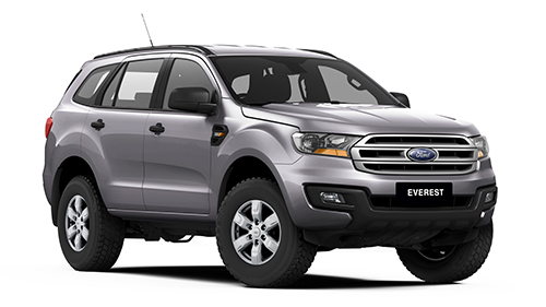 2017 Ford Everest UA Ambiente 4WD Wagon