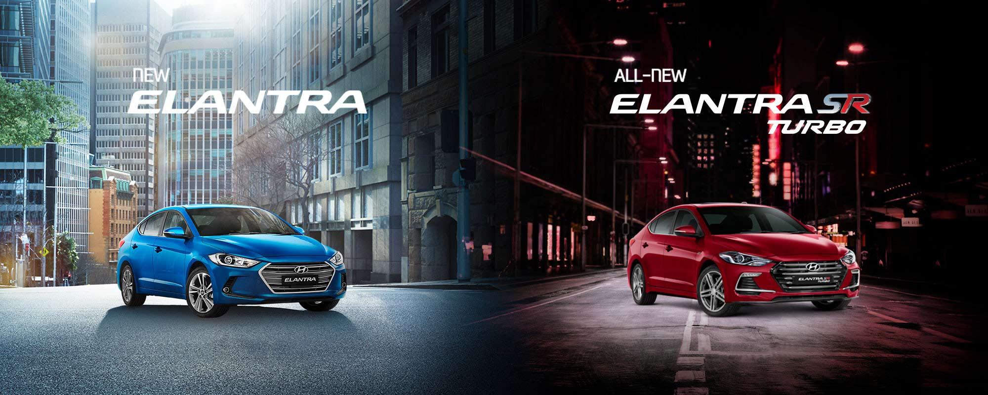 The all new Elantra Sedan and Elantra SR Turbo, now available at Metro Hyundai Brisbane.