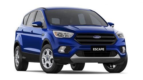 2017 MY17.5 Ford Escape ZG Ambiente AWD Wagon