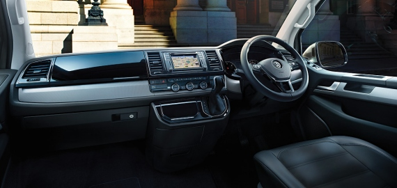 Multivan The new interior