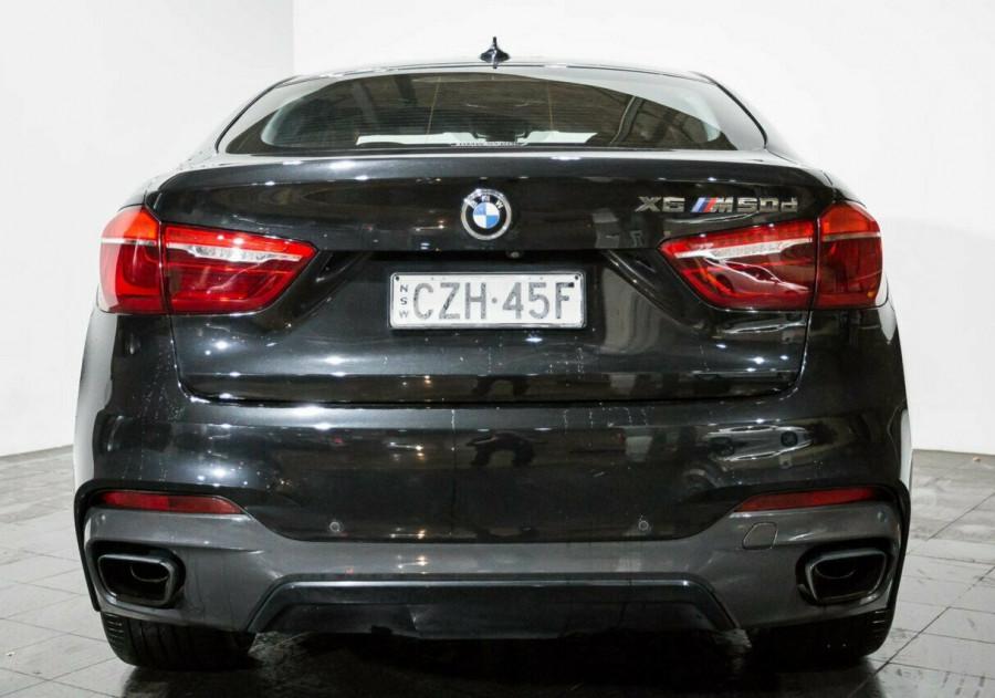 2015 BMW X6 F16 M50d Coupe Steptronic Wagon