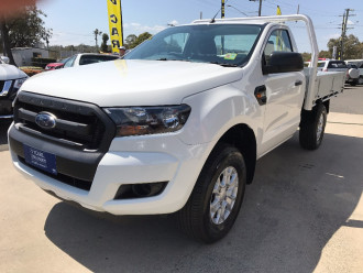 2017 Ford Ranger PX MkII 4x2 XL Single Cab Chassis 2.2L Hi-Rider Cab chassis