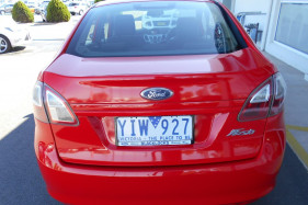 2010 Ford Fiesta WT LX Sedan
