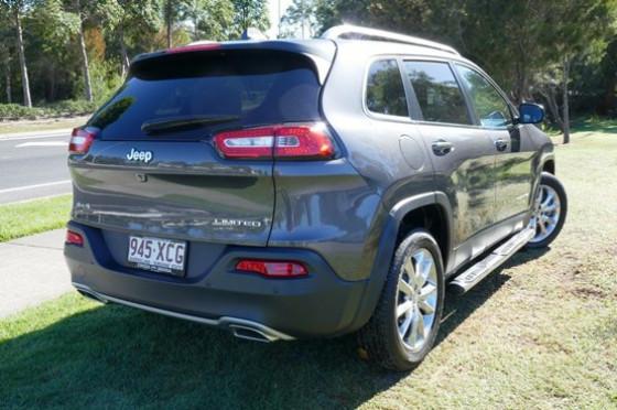 2015 Jeep Cherokee KL Limited Wagon