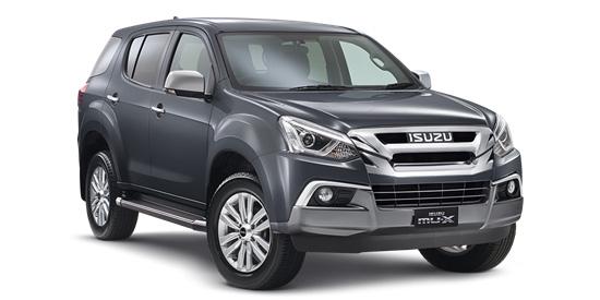 2017 Isuzu UTE MU-X 4x4 LS-U Wagon
